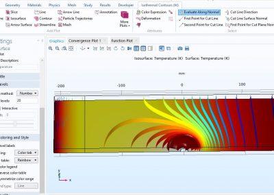 مدلسازی فرایند جوشکاری اصطکاکی در نرم افزار COMSOL