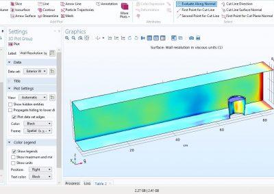مدلسازی سرمایش لیوان آب به وسیله تبخیر در نرم افزار COMSOL